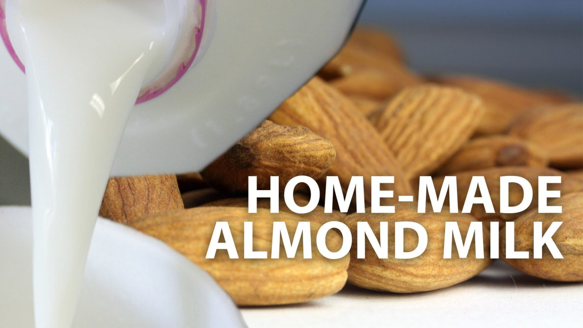 Homemade almond milk thumb-noface